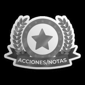 Acciones/Notas