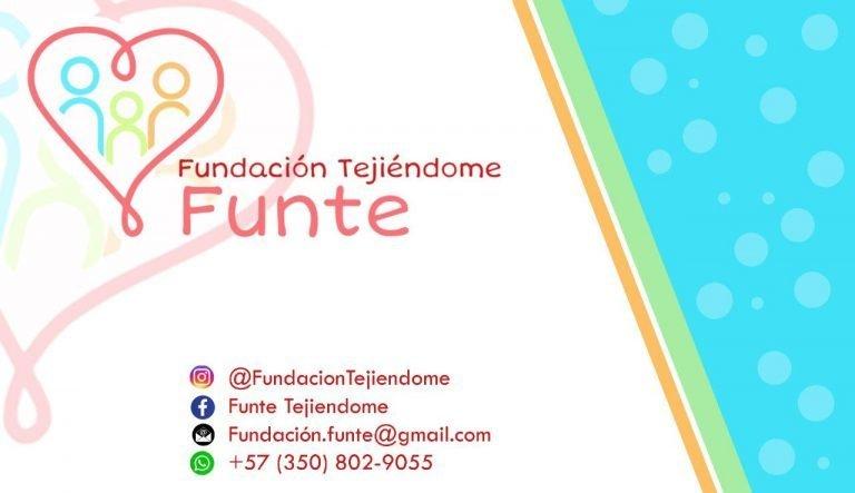 Fundación m Tejiéndome Dona Sonrisas al chocó y colombia