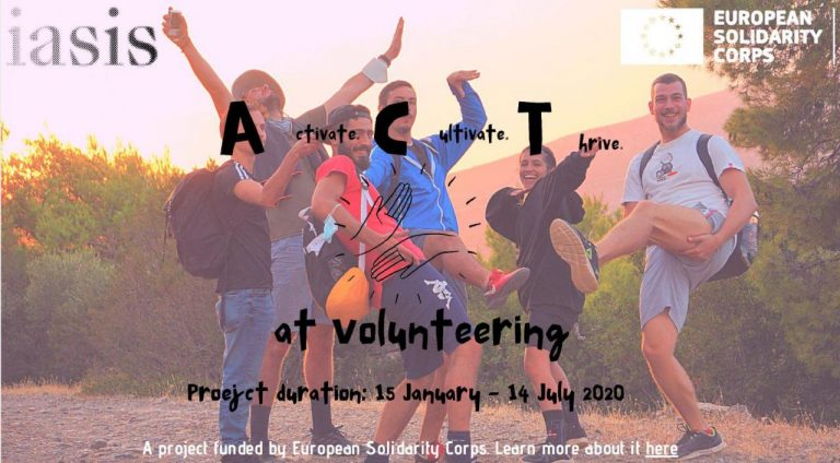 Activate, Cultivate, Thrive at Volunteering -ESC