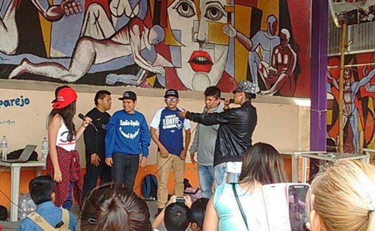 Poesia en «El Barrio Bravo de Tepito»